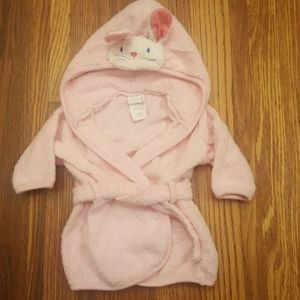 $3 ADD ON! Carter's Pink Baby Bunny Robe